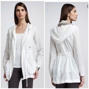Eileen Fisher Linen Drawstring Jacket